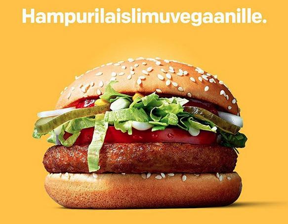 McDonald's announces a soy vegan burger option – the McVegan