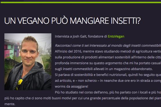 Interview with L'Entomofago – full text