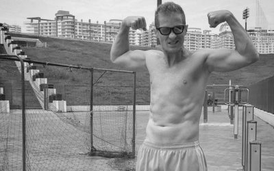 Entogains on the dadbod after the first 30 days of the Entovegan challenge