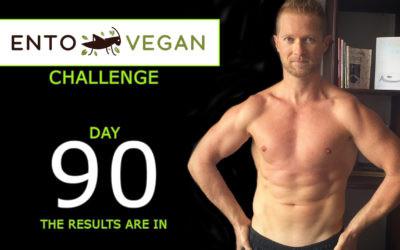 90 days of clean entovegan eating and working out – the body composition results