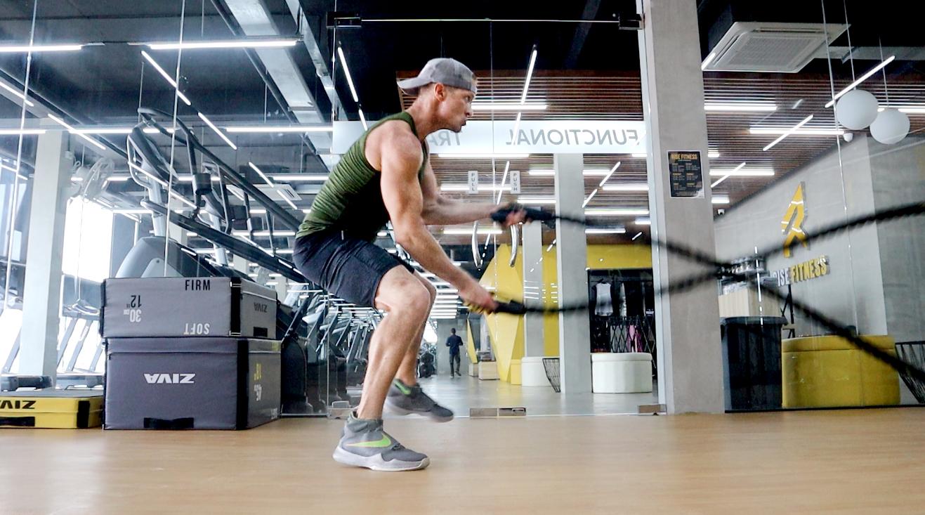 entovegan rise fitness fitness battle ropes josh galt ...